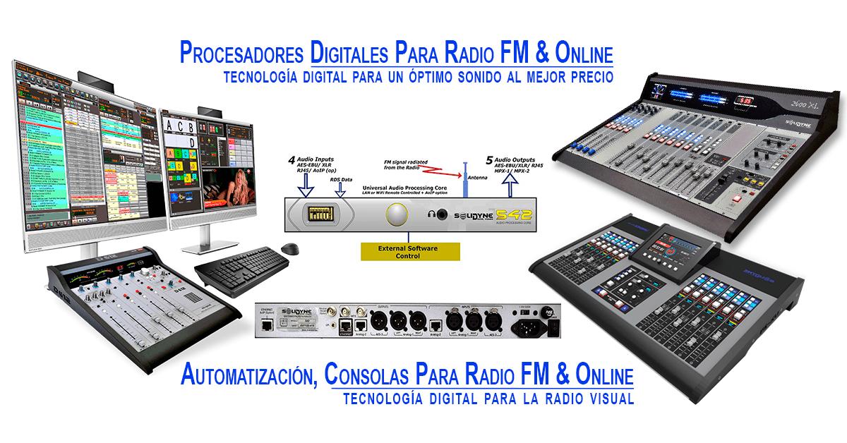 Buena-Imagen-Procesadores-De-Sonido-Consolas-Radio-Fm-Internet-Solidyne-