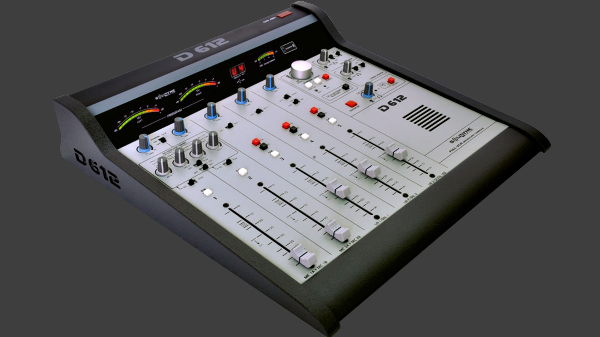Consola-D612-Solidyne-Televisión-Radio-Emisoras-FM-AM-Internet-Virtual-Online-Buena-Imagen-Bogotá-Colombia