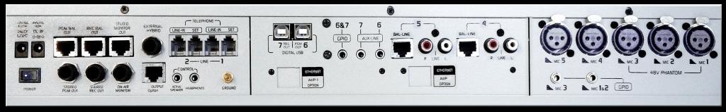 PanelTrasero-Consola-Mixer-DX816-Solidyne-Television-Radio-Emisoras-FM-AM-Internet-Virtual-Online-Buena-Imagen-Bogotá-Colombia
