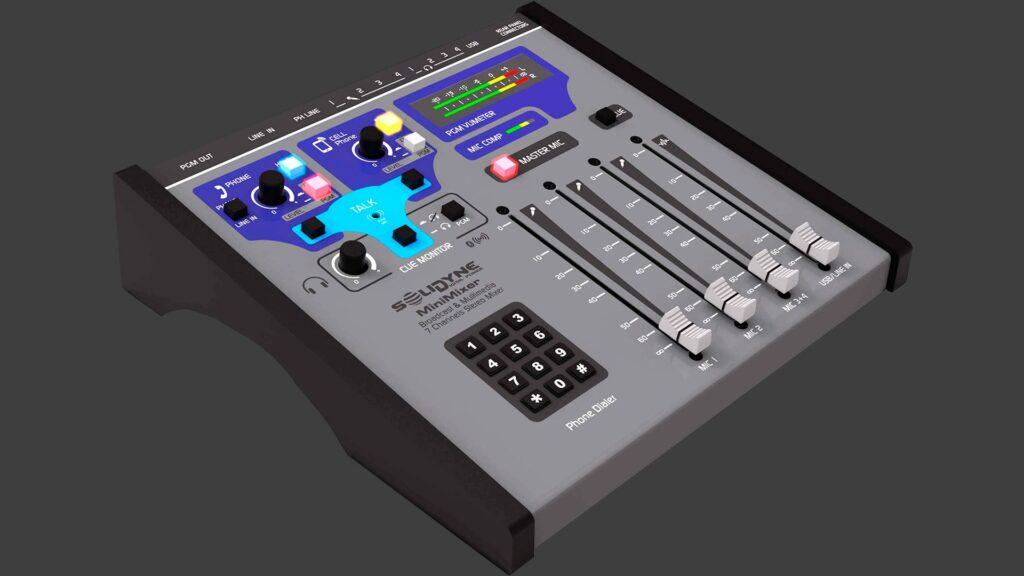 Consola Minimixer Radio Web