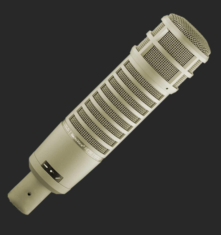 Micrófono Electro Voice RE20